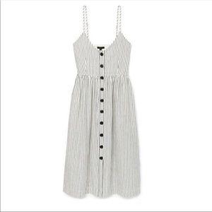ATM Striped Dress, NWT!